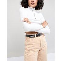 Cinturón para cintura y cadera estilo western con extremo largo de ASOS DESIGN
