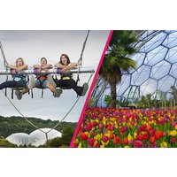 Eden Project Entry With Zip Wire, Giant Swing And Big Air For Two Picture