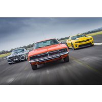 Movie Muscle Car Driving Blast - Movie Gifts