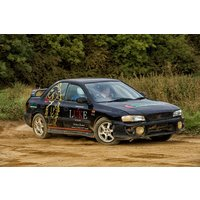 Rally Driving With High Speed Passenger Ride At Silverstone Rally School Picture