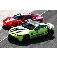 Silverstone Ferrari Vs Aston Martin Early Bird Experience Picture