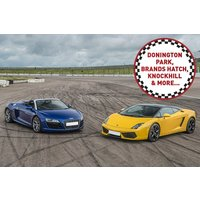 Double Supercar Driving Thrill at a Top UK Race Track - Track Gifts
