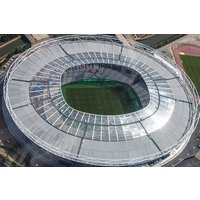 Football Stadium Helicopter Tour With Bubbly Picture