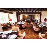 Three Course Dinner with a Glass of Wine for Two at Ghyll Manor Hotel