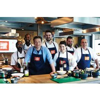 Jamie Cooks Italy Class with Free Book at Jamie Oliver Cookery School for One - Italy Gifts