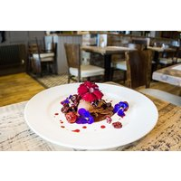 Three Course Meal with a Bottle of Fizz for Two at Hinnies Restaurant - Buyagift Gifts