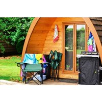 Two Night Stay in a Camping Pod at The Old Rectory Camping Park - Camping Gifts