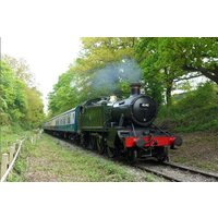 Steam Train Journey with Cream Tea and Vintage Bus Ride for Two - Train Gifts