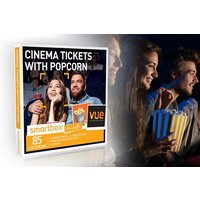Cinema Tickets with Popcorn - Smartbox by Buyagift - Cinema Gifts