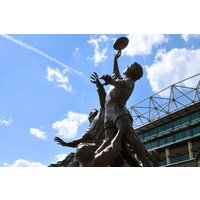 Family Tour Of Twickenham Stadium Picture