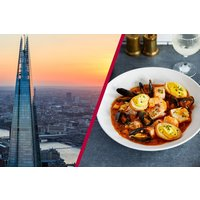 The View From The Shard With 3 Course Dining And Bubbles For Two Picture