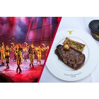 Upper Circle Theatre Show and Two Course Meal at Marco Pierre White Steakhouse Co - Musical Theatre Gifts