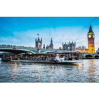 Superior Bateaux 5 Course Dinner Thames Cruise With Live Entertainment For Two Picture