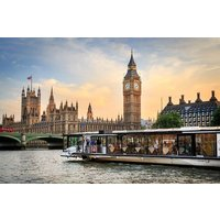 Premier Bateaux 5 Course Dinner Thames Cruise With Bottle Of Wine For Two Picture