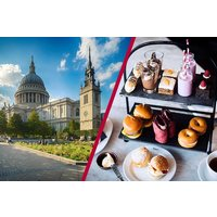 St Paul's Cathedral Visit and Gin Afternoon Tea for Two at Malmaison London