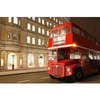 Vintage Bus Tour of London, Thames River Cruise and Fish and Chips for Two - Thames Gifts