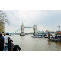 Vintage Bus Tour of London, Thames River Cruise and London Eye for Two - Thames Gifts