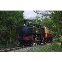 Steam Train Ride with Cream Tea and Vintage Bus Ride for Two - Train Gifts