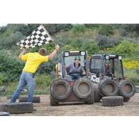 Dumper Racing At Diggerland Picture