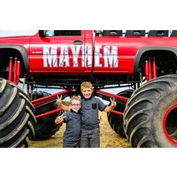 Monster Truck Ride For One Picture