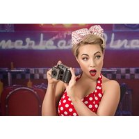 50s Pin Up Makeover And Photoshoot Picture