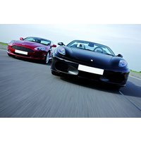 Ferrari And Aston Martin Driving Thrill Picture
