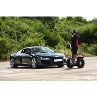 Two Supercar Drive And Off Road Segway Day Picture