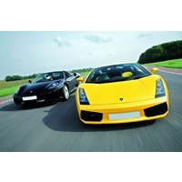 Ferrari And Lamborghini Driving Thrill With Passenger Ride Picture