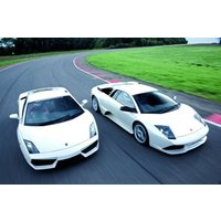 Lamborghini And Aston Martin Driving Blast Picture