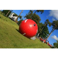 Eclipse Zorbing For Two In Nottingham Picture
