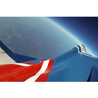 MiG29 Edge of Space Flight in Russia