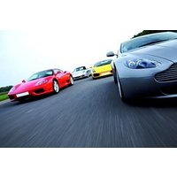 Four Supercar Driving Thrill With Passenger Ride Picture
