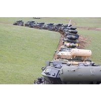 Tank Driving Thrill In Leicestershire Picture