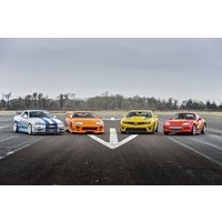 Five Supercar Driving Blast With Free High Speed Passenger Ride - Special Offer