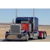 Optimus Prime American Truck Driving Experience