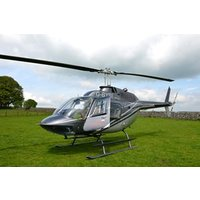Spectacular Silverstone Helicopter Flying Lesson Picture