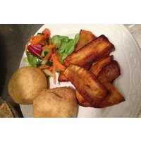 Caribbean Meze for Two with a Bottle of Wine or Rum Punch at Cafe Alleynes