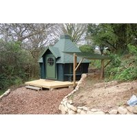 Two Night Stay in a Hobbit Hut at Acorn Camping