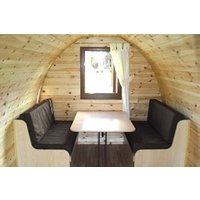 One Night Super Pod Camping Break at Woodovis Park - Camping Gifts