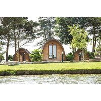 One Night Break in a Private Camping Pod at Lake Dacre - Camping Gifts