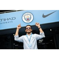 Manchester City Stadium Tour With Souvenir Photo For Two Adults  - Special Offer
