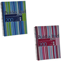 1 x Pukka Pad A5 80gsm Plastic Wirebound Ruled Jotta Notebook (200 Pages) - Assorted Colours