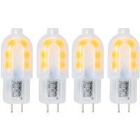 4 Pack of G4 LED 1.5W Capsule Bulb (10W Equivalent) 100 Lumen - Warm White