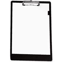 5 Star Black Standard Foolscap Clipboard