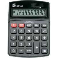 5 Star Desktop Battery/Solar 10 Digit Display Calculator