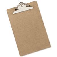 5 Star Foolscap Hardboard Clipboard