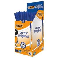 Image of BIC Cristal Ballpoint Pen - Blue (50 Pack)