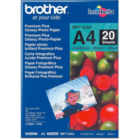 Brother BP71GA4 A4 Glossy Photo Paper 260gsm 20 sheets