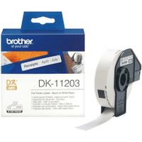 Brother DK-11203 Original 17mm x 87mm P-Touch Labels x300