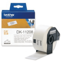 Brother DK-11208 Original 38mm x 90mm P-Touch Labels x400